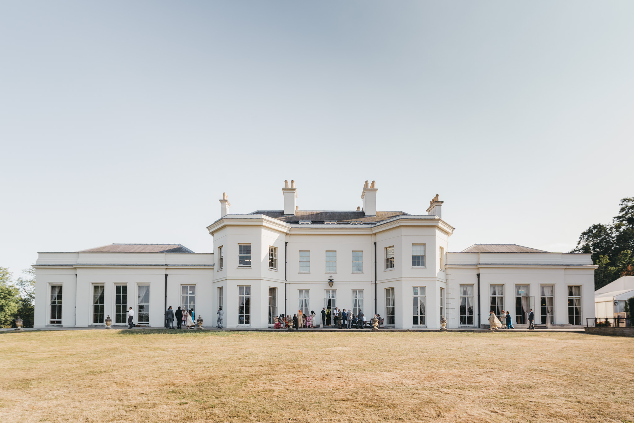 Hylands House Indian Wedding